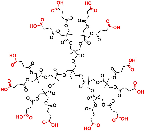 Bis-MPA Carboxyl Dendrimer, Generation 2, TMP Core