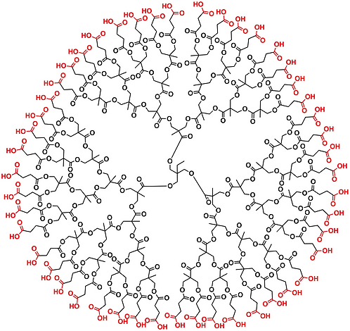 Bis-MPA Carboxyl Dendrimer, Generation 4, TMP Core