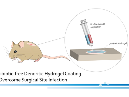 Dendritic Hydrogel Coating To Overcome Surgical Site Infection