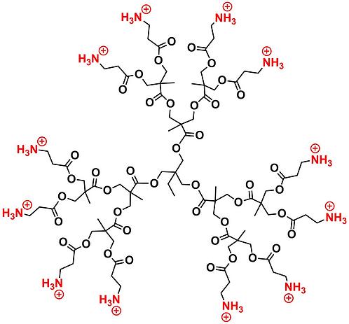 Bis-MPA Ammonium Dendrimer, Generation 2, TMP Core