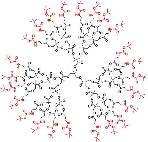 Bis-MPA NHBoc Dendrimer, Generation 3, TMP Core