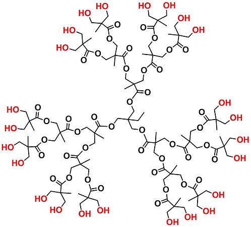 Bis-MPA Hydroxyl Dendrimer, Generation 3, TMP Core