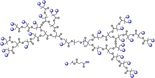 Hyperbranched bis-MPA PEG 10k, Carboxyl Functional Generation 4