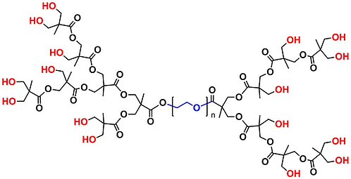Hyperbranched bis-MPA PEG 6k, Hydroxyl Functional, Generation 3