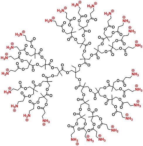Bis-MPA Ammonium Dendrimer, Generation 3, TMP Core