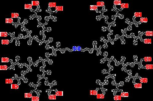 Bis-MPA Hydroxyl Dendrimer, Generation 4, Disulfide Core