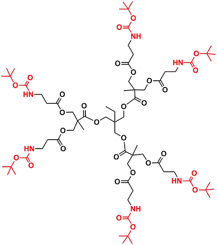 Bis-MPA NHBoc Dendrimer, Generation 1, TMP Core