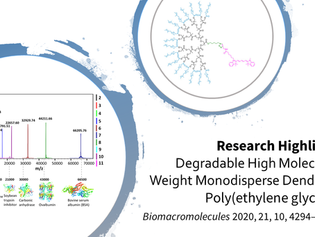 Research Highlight: Degradable High Molecular Weight Monodisperse Dendritic Poly(ethylene glycols)