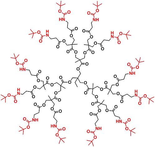 Bis-MPA NHBoc Dendrimer, Generation 2, TMP Core
