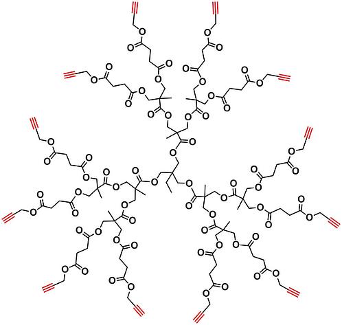 Bis-MPA Acetylene Dendrimer, Generation 2, TMP Core