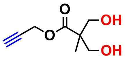bis-MPA Hydroxyl Dendron, Acetylene Core, Generation 1