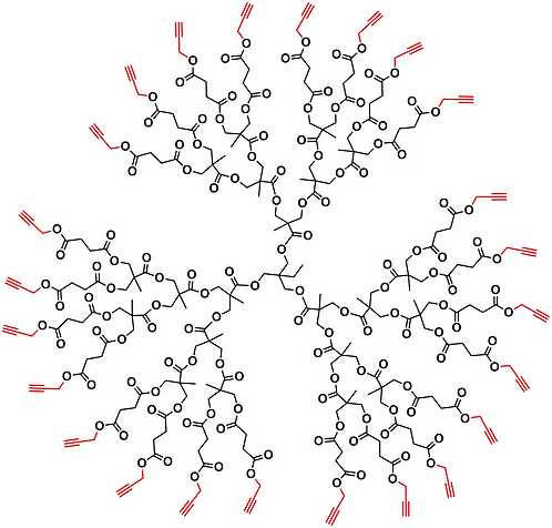 Bis-MPA Acetylene Dendrimer, Generation 3, TMP Core