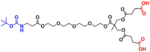 bis-MPA Carboxyl Dendron, NH-BOC Core, Generation1