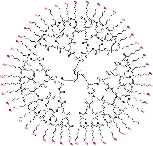 Bis-MPA Azide Dendrimer, Generation 4, TMP Core