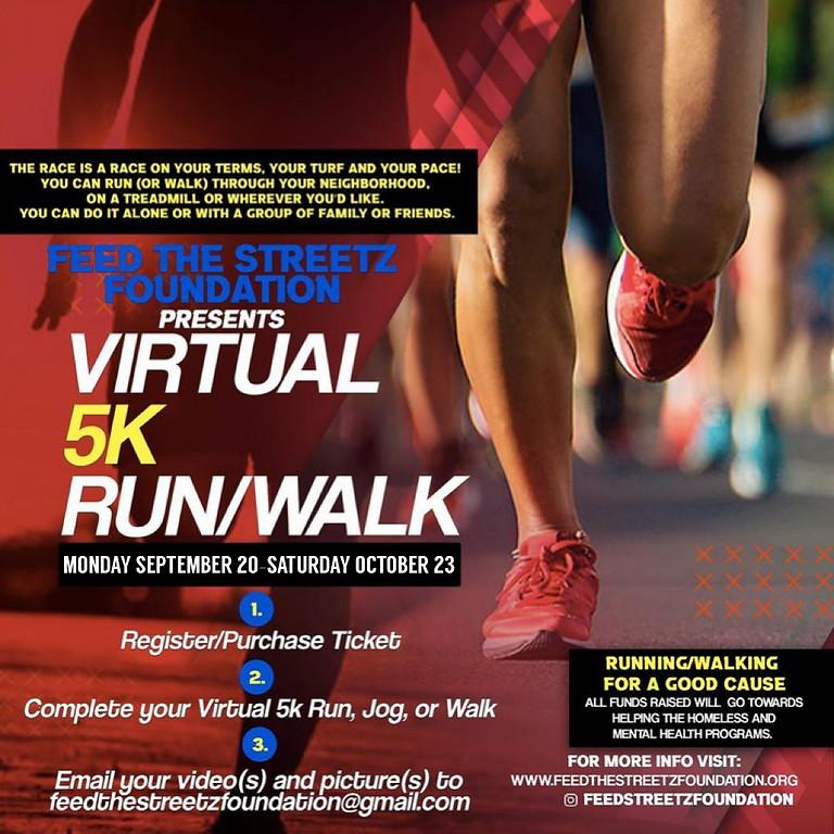 VIRTUAL 5K RUN/WALK