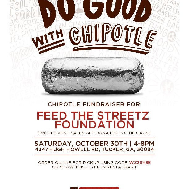 DO GOOD WITH CHIPOTLE