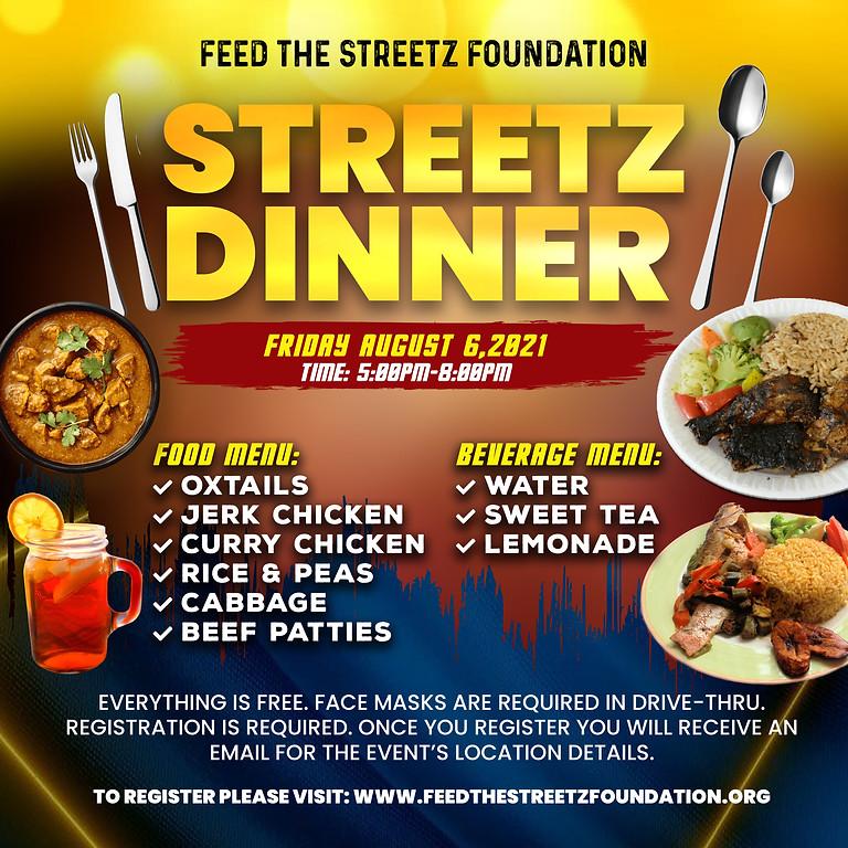 Streetz Dinner
