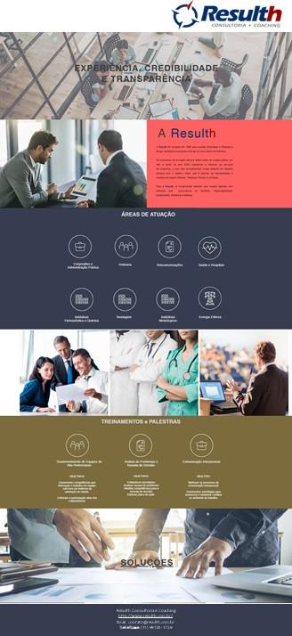 Folder Resulth Consultoria