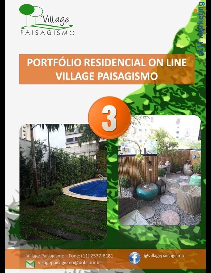 Portfólio 3 Village Paisagismo