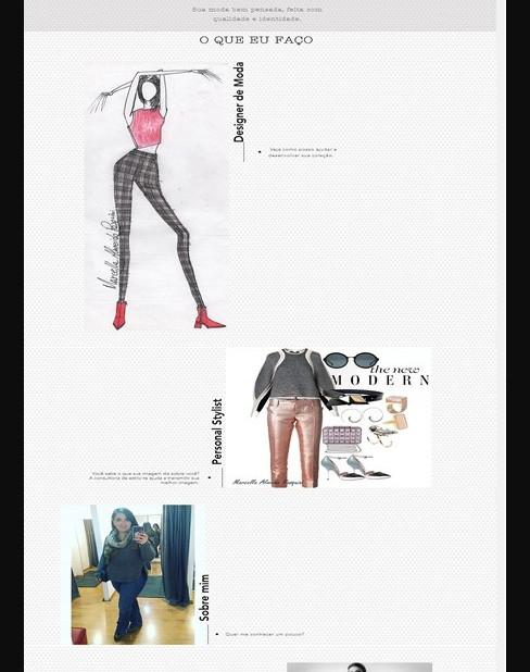Site Marcella Pasquini Designer de Moda
