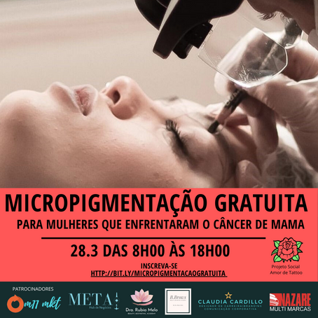 Micropigmentacao Gratuita
