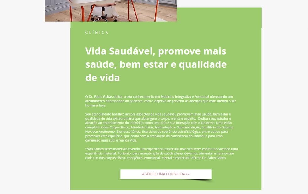 Site Dr. Fabio Gabas