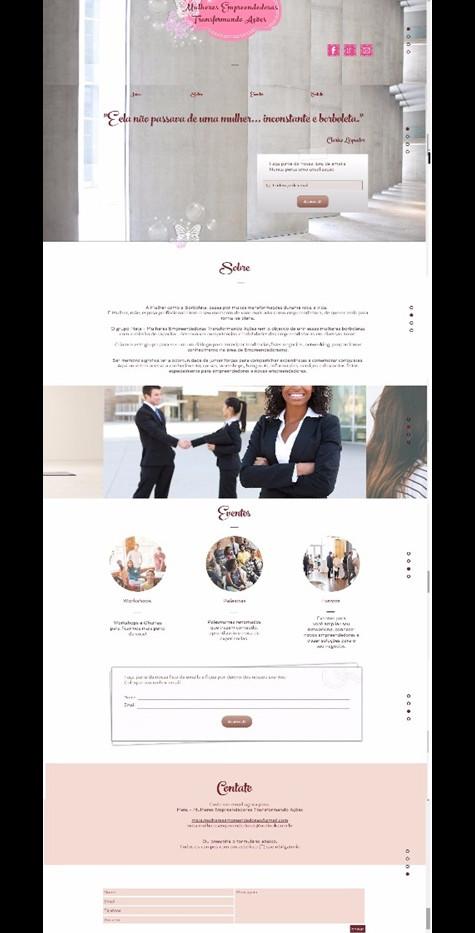 1º Email Marketing Lançamento do Portal Meta Mulheres Empreendedoras