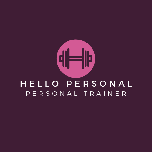 Logo Hello Personal- fundo beterraba-fon