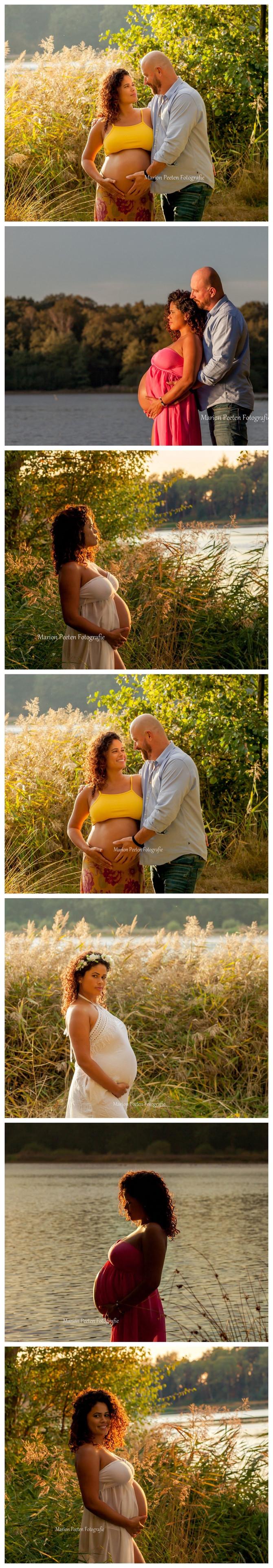 Zwangerschap fotoshoot in Venlo