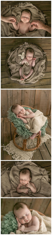 Sam mini newborn fotoshoot