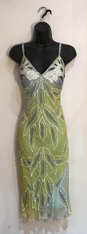 Silk Sequin Dress