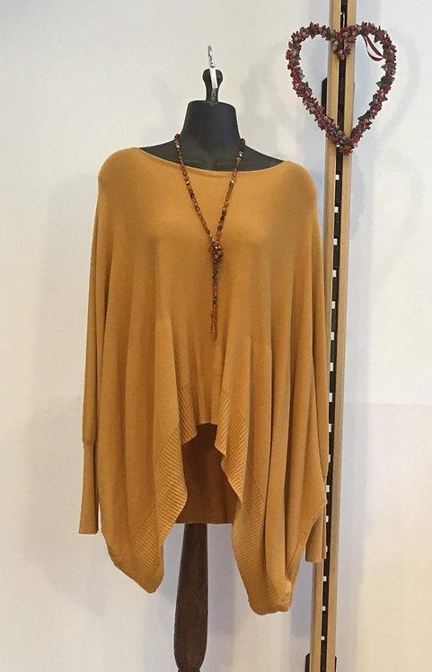 Mustard Slouchy Knit