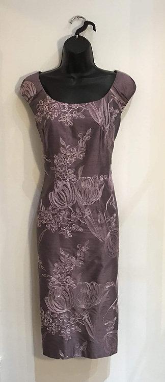 Two Piece Lilac Dress