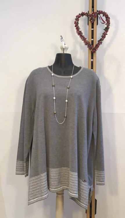Stripe Jumper Grey