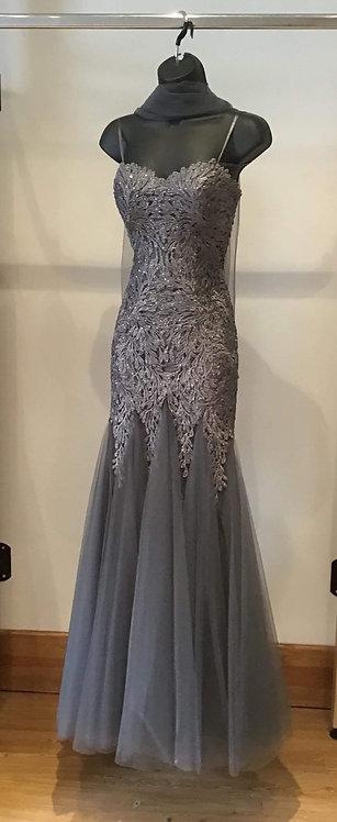 Boned Strapless Dress