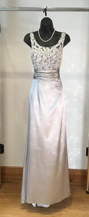 Lou Lou Satin Lace Dress