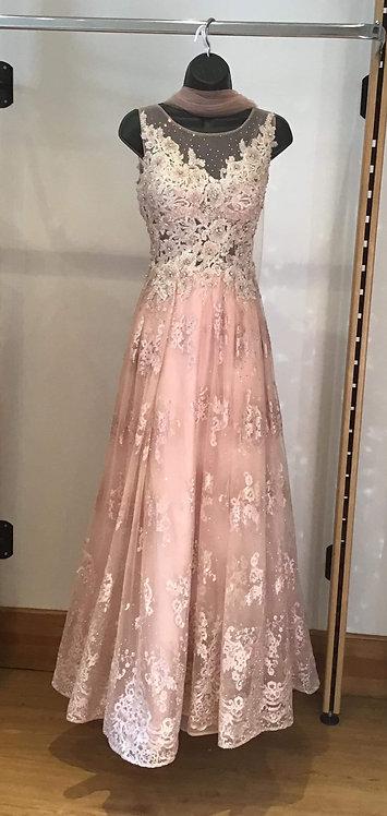 Vintage Full Lace Dress