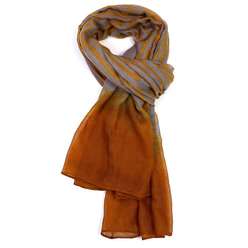 Watercolour Scarf Citrus