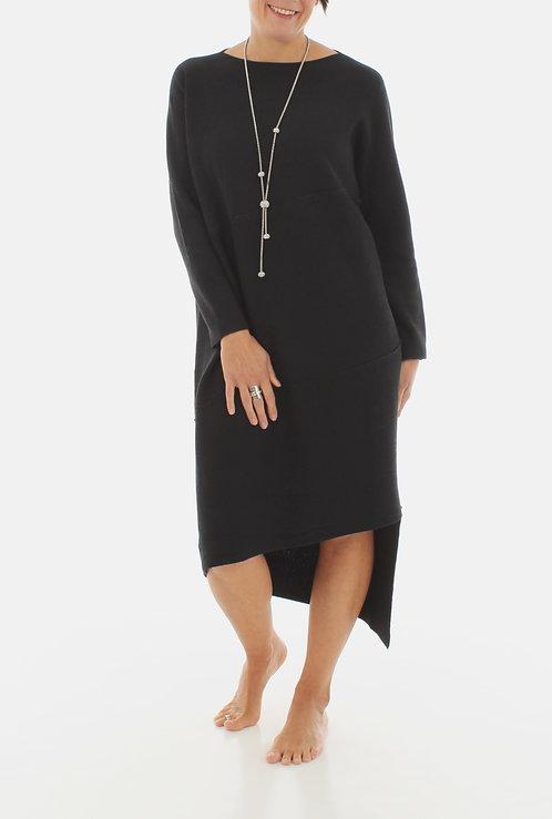 Asymmetric Dress Black