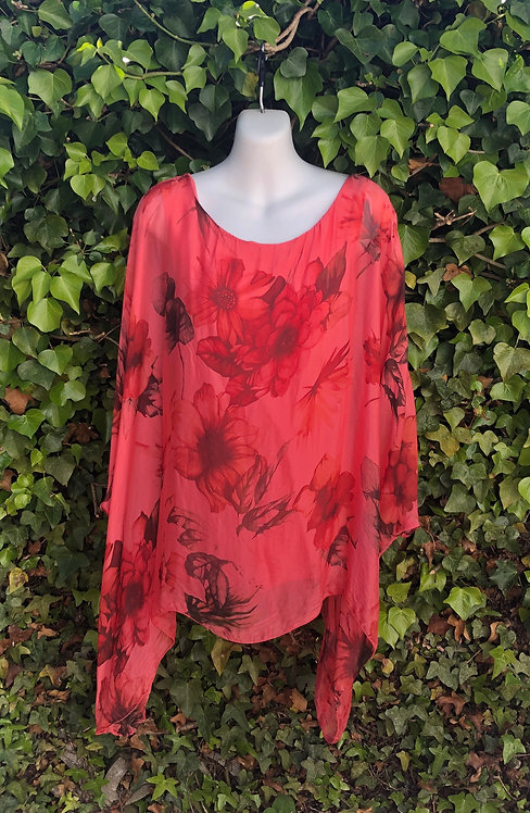 Floral Silk Top