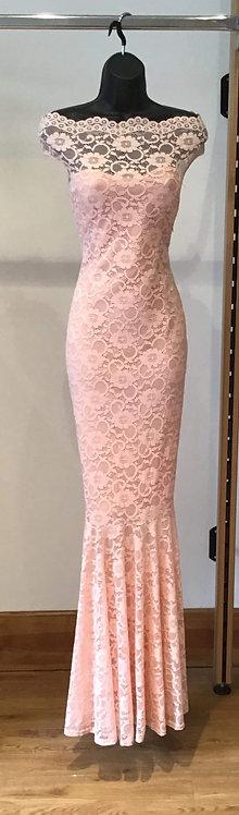 Lacey Blush Dress