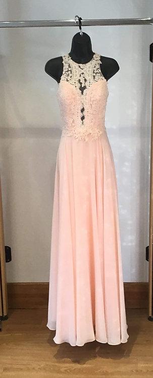 Jora Peachy Lace Vintage Look