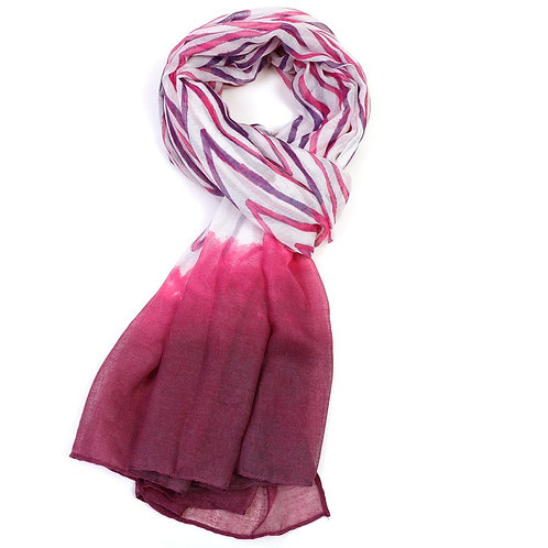 Watercolour Scarf Pink