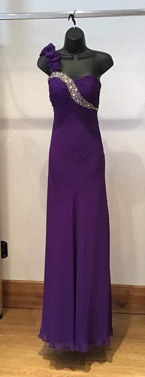 Jora Purple Chiffon