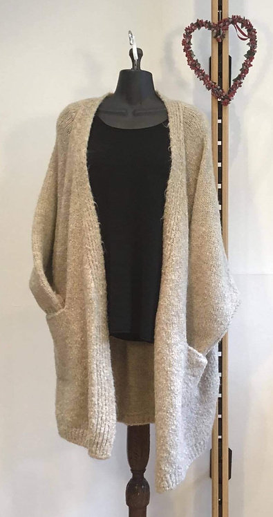 Slouchy Long Cardigan