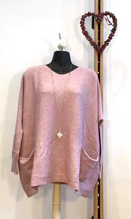 Sparkle Jumper Pink