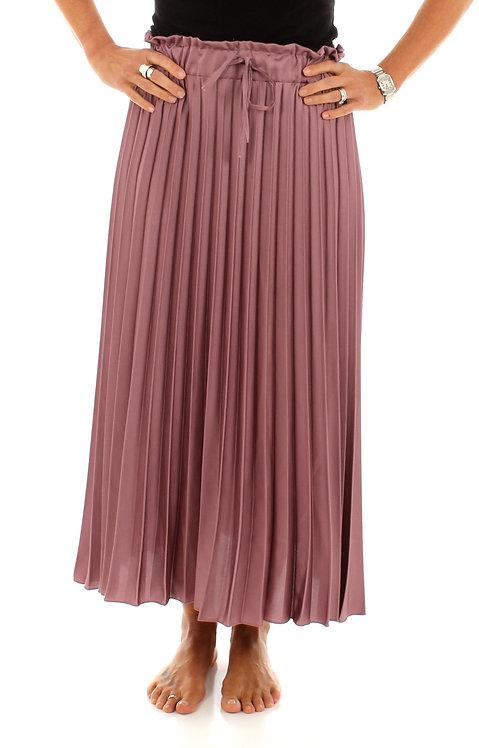 Pleated Skirt Dusty Rose
