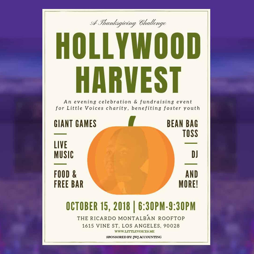 Hollywood Harvest, Thanksgiving Challenge