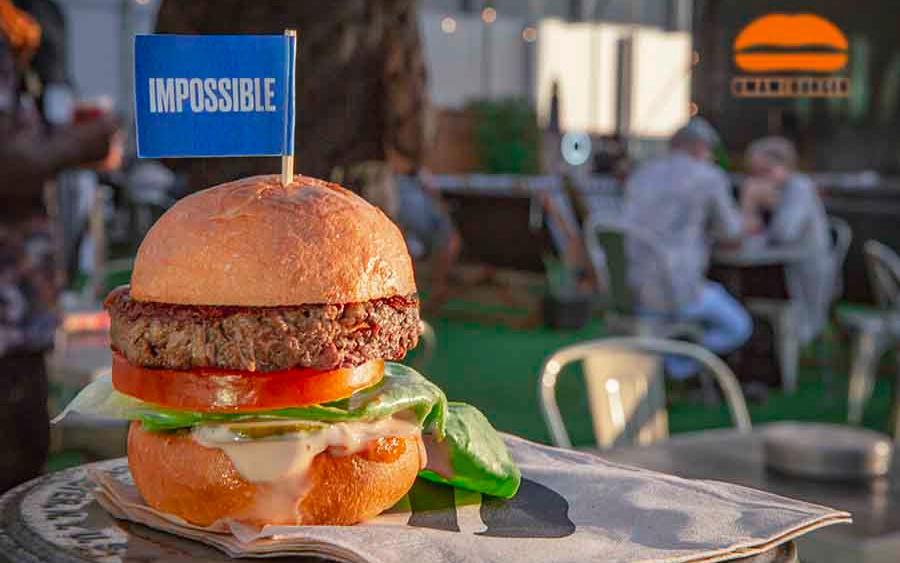 UMAMI Impossible Burger