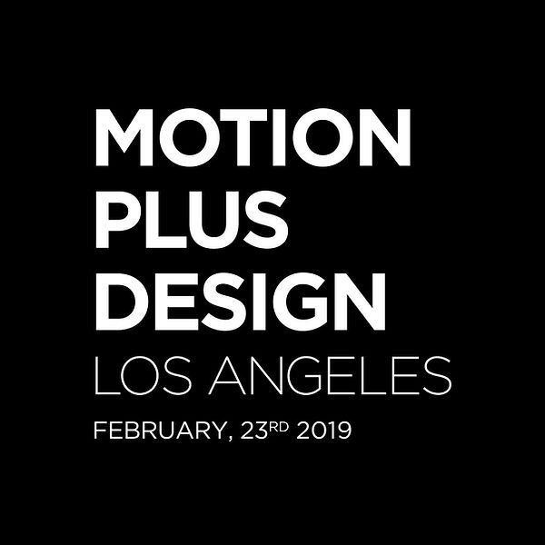 motion design festival in la from motion plus design